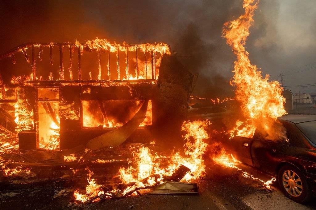 Incendio en California / AP