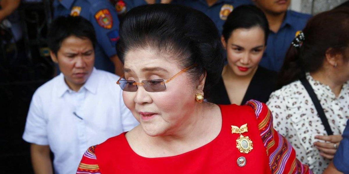 Tribunal declara culpable a exprimera dama de Filipinas
