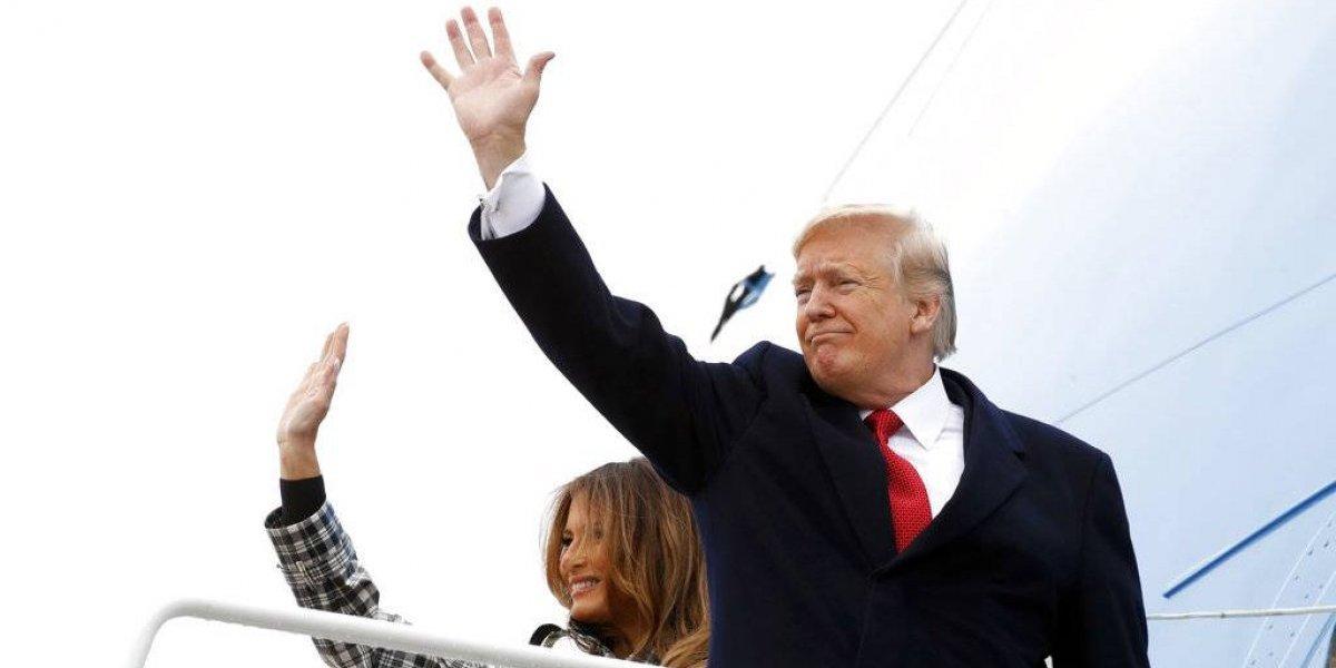 Llegando a Francia, Trump critica a Macron - Internacional - Notas