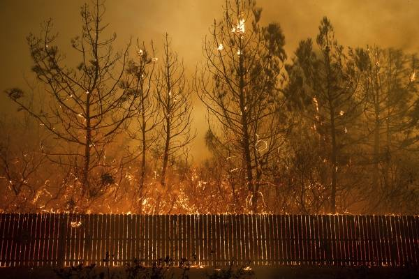 Incendio California