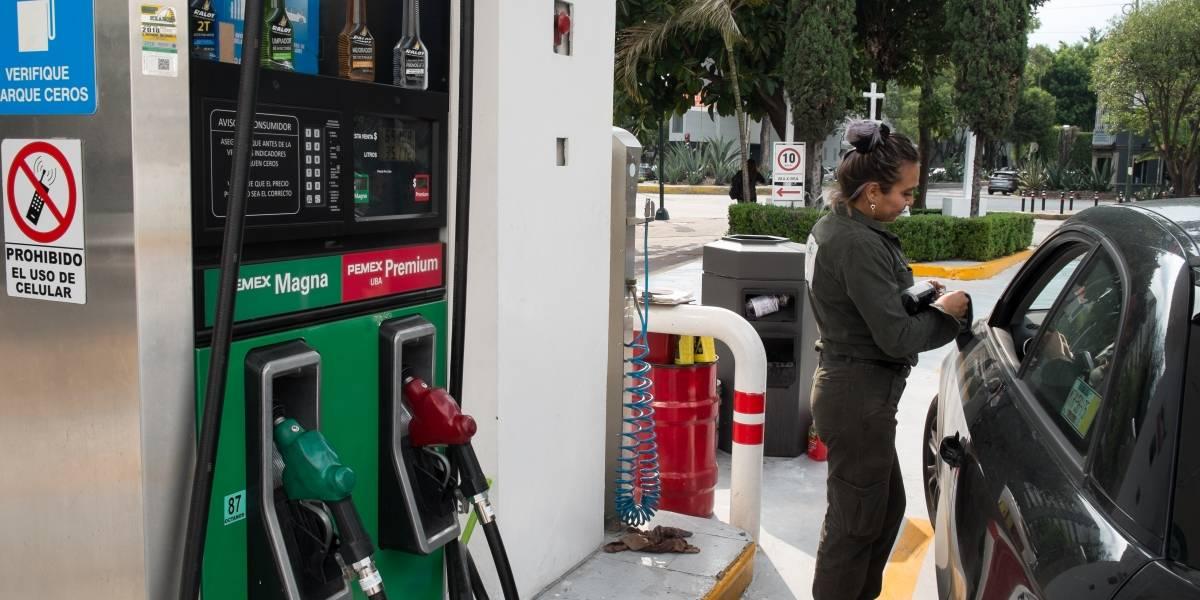 Gasolina Premium registra tercera semana consecutiva sin estímulo fiscal