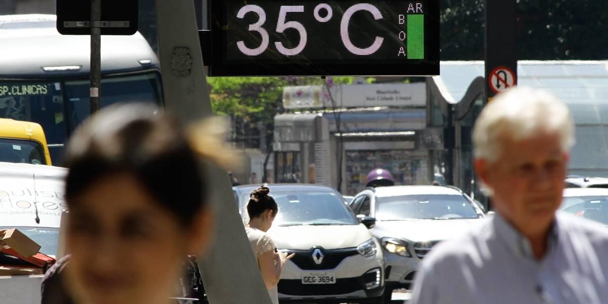 Previsão do tempo: Temperatura pode superar os 30°C nesta terça-feira