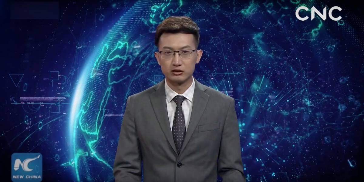 ¡Reemplazados! China estrena periodista virtual con inteligencia artificial