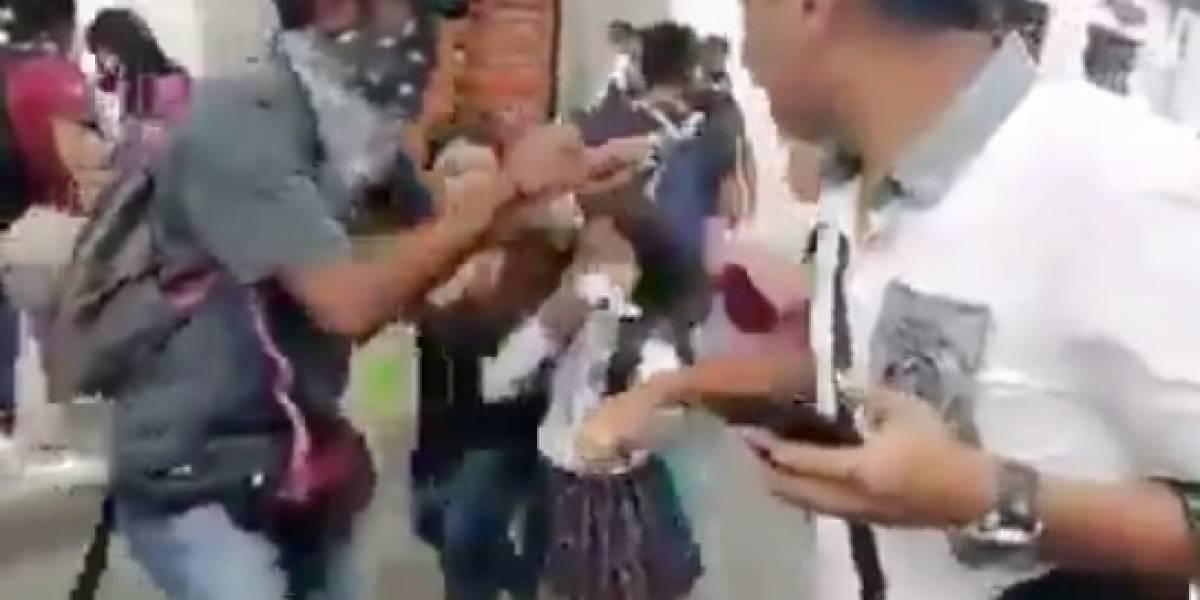 Niños de un colegio en Popayán resultaron afectados por el Esmad