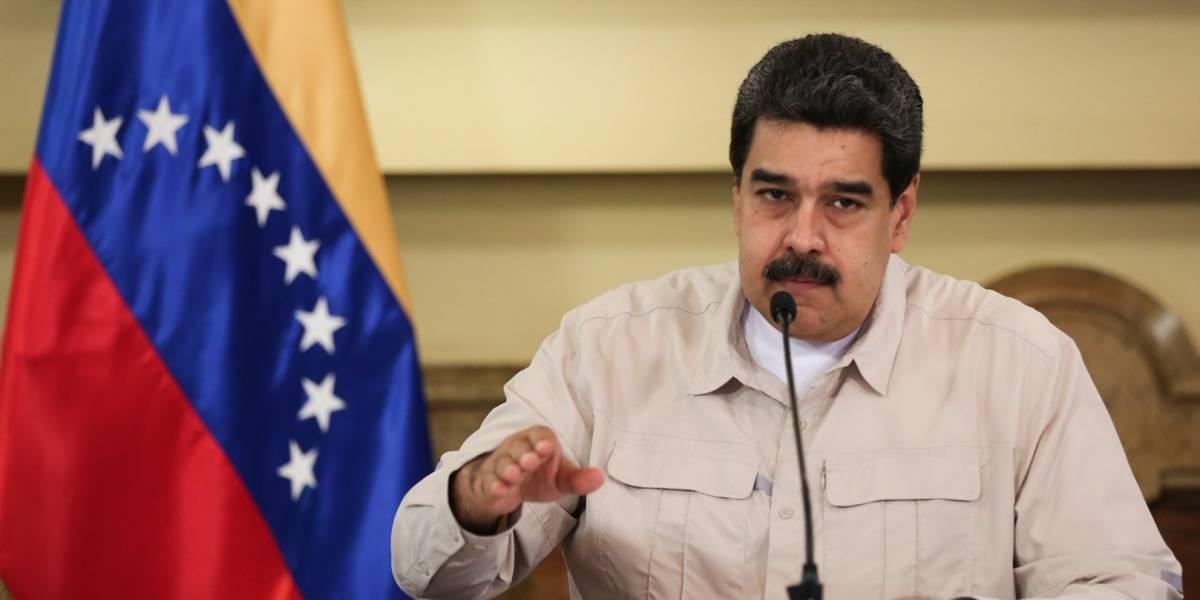 La reacción de Maduro al quedarse sin luz en el Palacio de Miraflores
