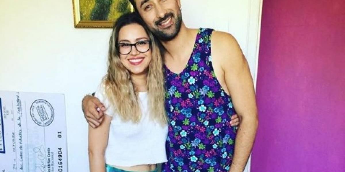"""""""Tengo ganas de gritarle al mundo que soy feliz"""": El romántico mensaje de cumpleaños de Karla Melo a vocalista de La Combo Tortuga"""