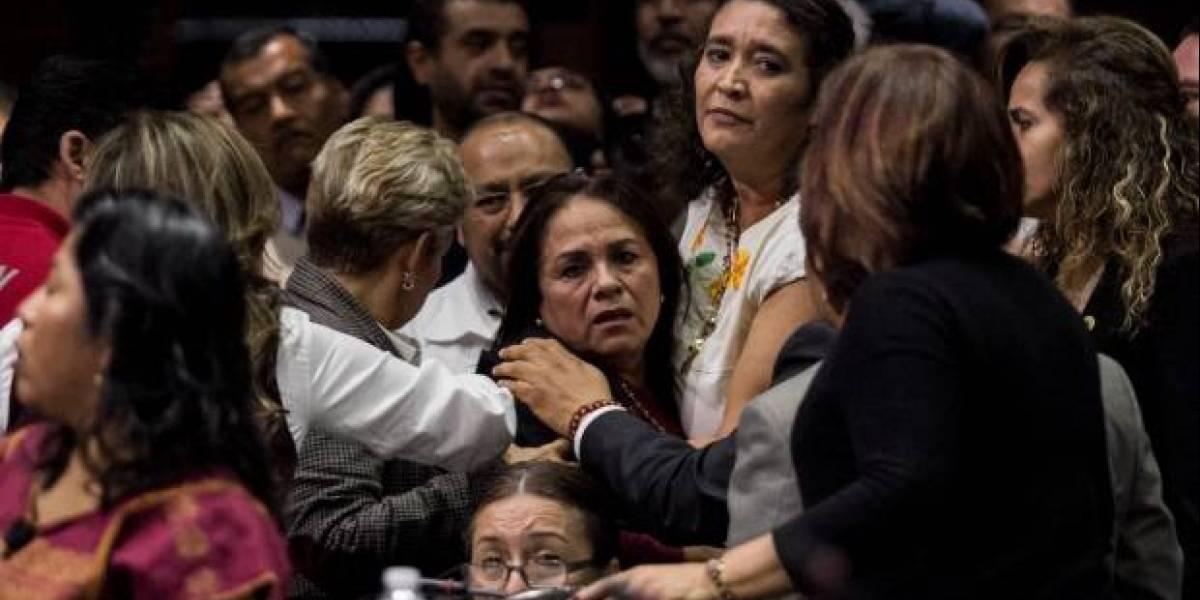 Diputada Carmen Medel se entera del asesinato de su hija en plena sesión