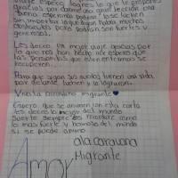 Carta de apoyo a migrantes