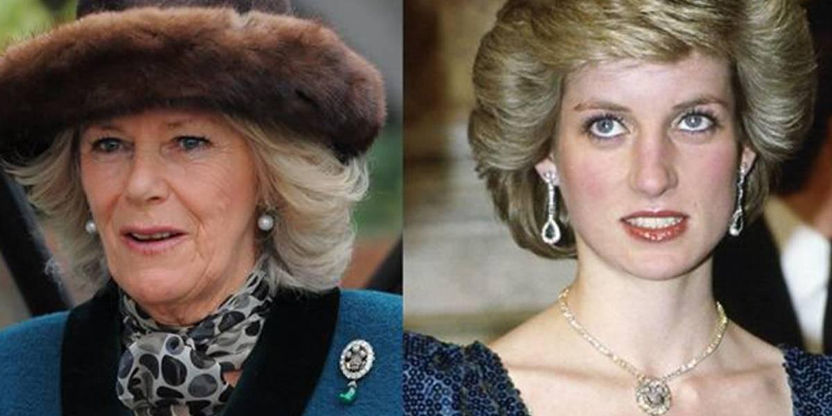 """""""Fea, gorda y sucia"""", así era como la princesa Diana se refería a su rival, Camilla Parker"""