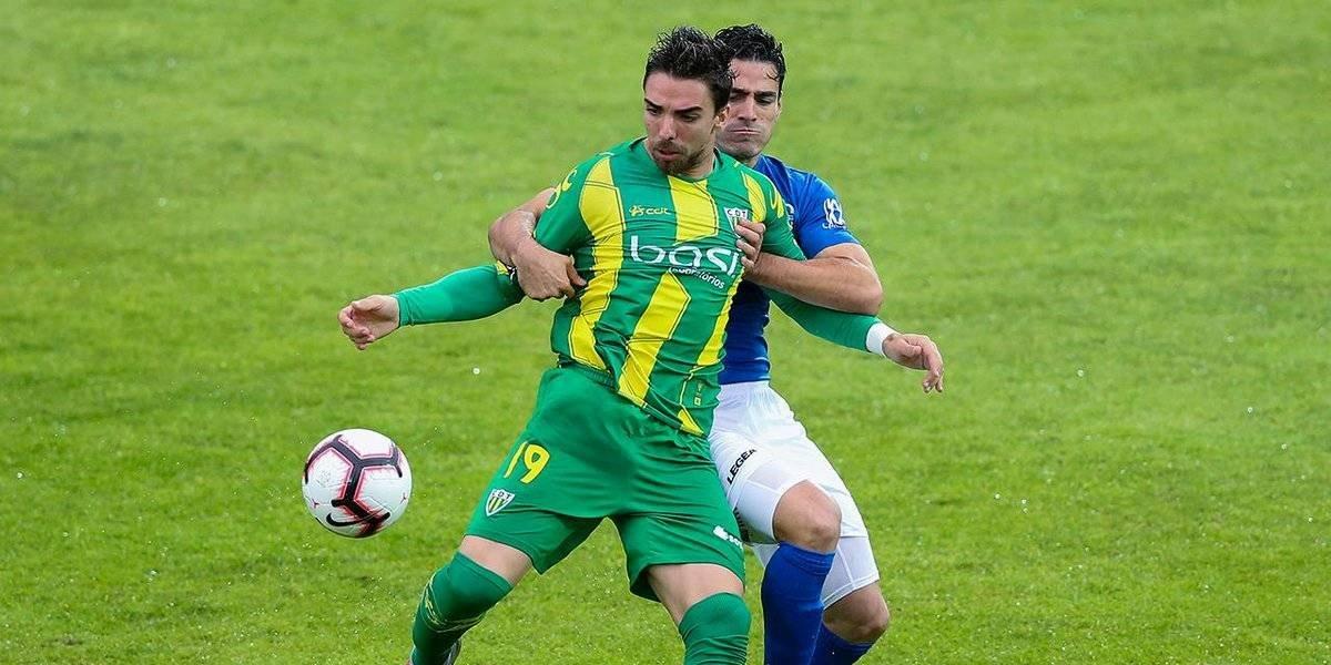 Antonio Briseño, titular en la derrota del Feirense