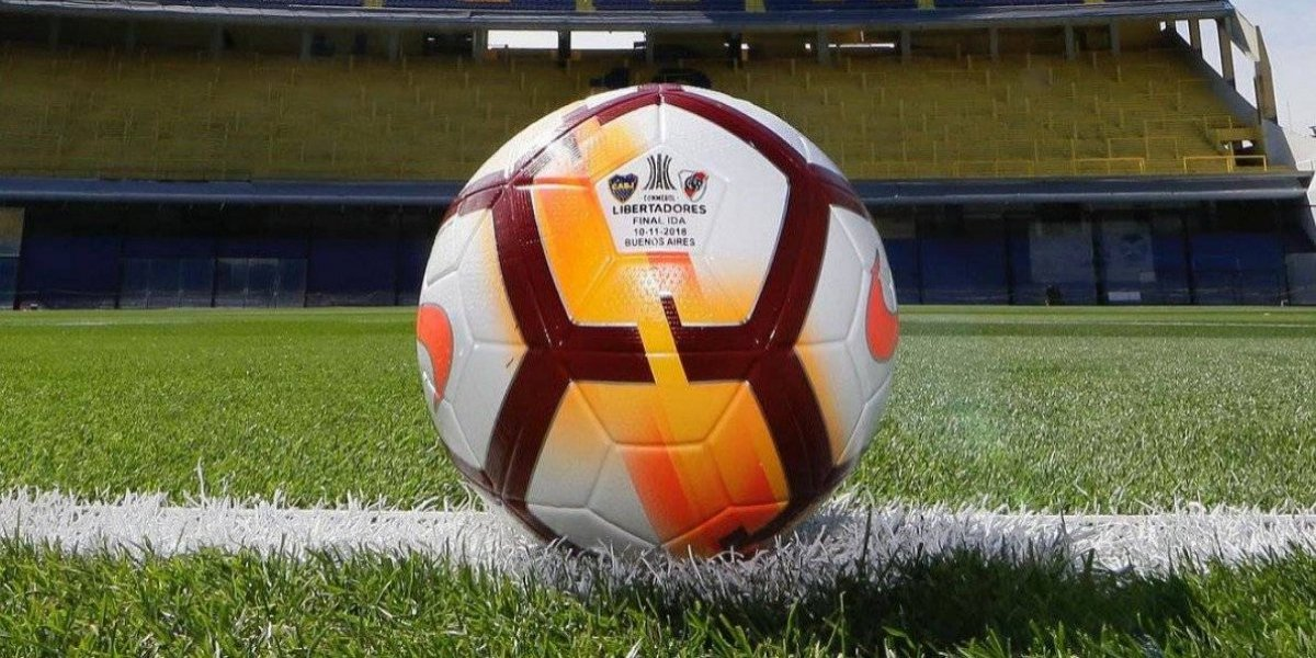 Presentan balón para la final de la Copa Libertadores