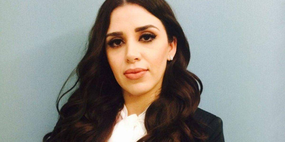 Esposa de 'Chapo' Guzmán es elogiada por publicar foto sin maquillaje