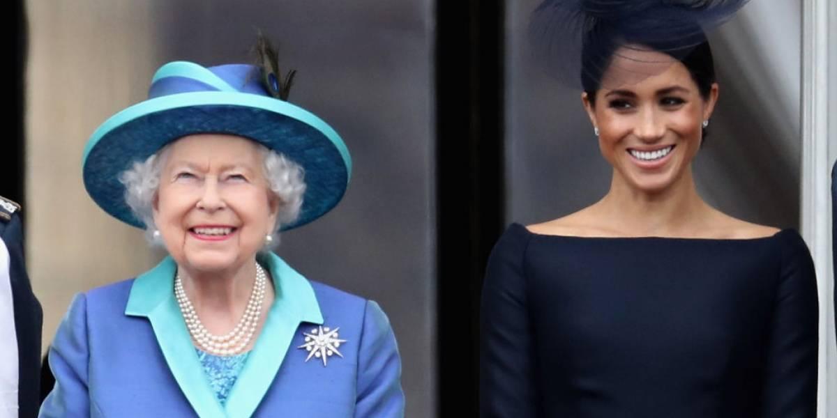 """""""Meghan no puede tener lo que quiere"""": desclasifican gran discusión entre Markle y la reina Isabel antes de la boda real"""