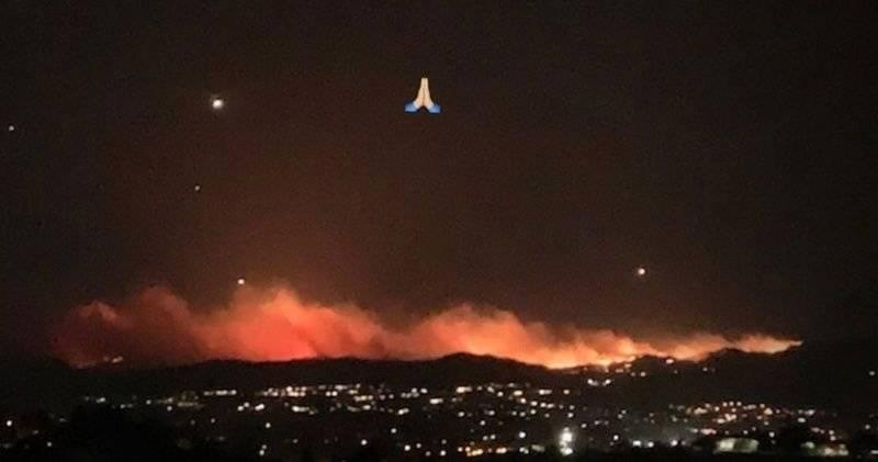 Incendio Kim Kardashian