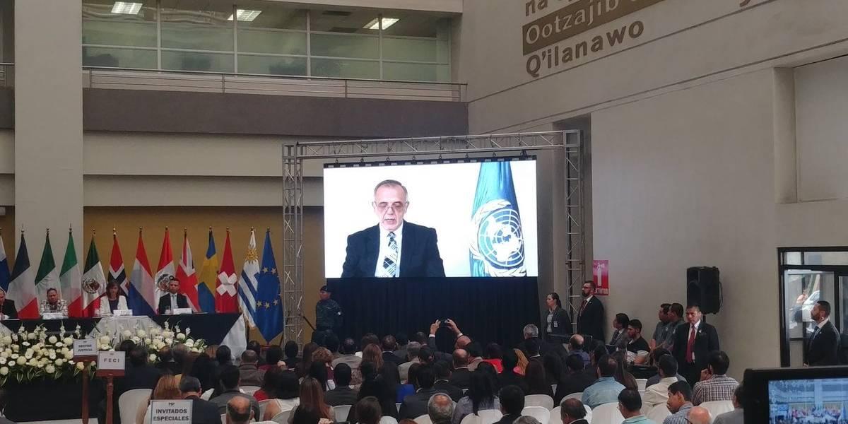 """Velásquez: """"Estoy seguro que el pueblo guatemalteco sabrá superar la adversidad y continuará su lucha"""""""