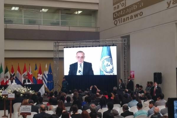 Iván Velásquez presenta XI informe de labores de la CICIG