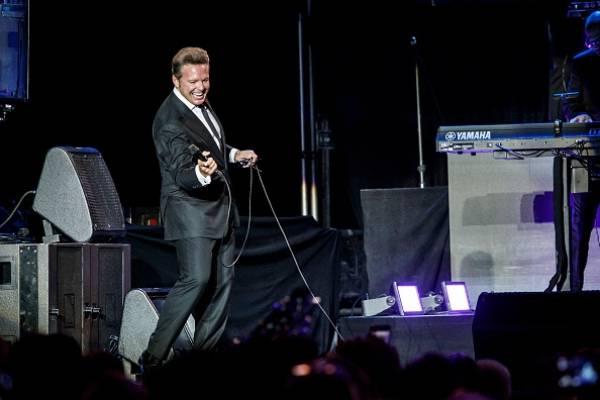 Luis Miguel en su gira de conciertos