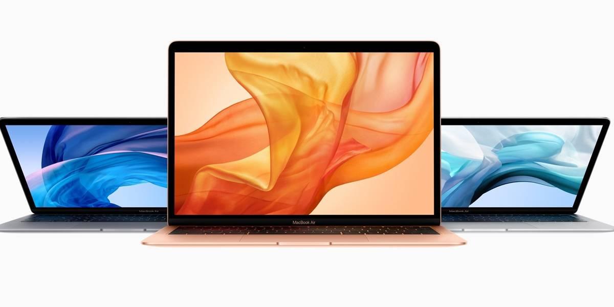 La MacBook Air 2018 sería menos complicada de reparar que las anteriores