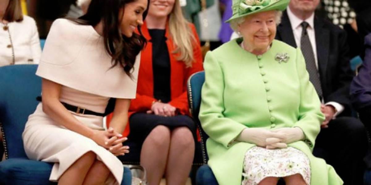 Revelan la gran discusión que Meghan Markle tuvo con la reina Isabel antes de su boda