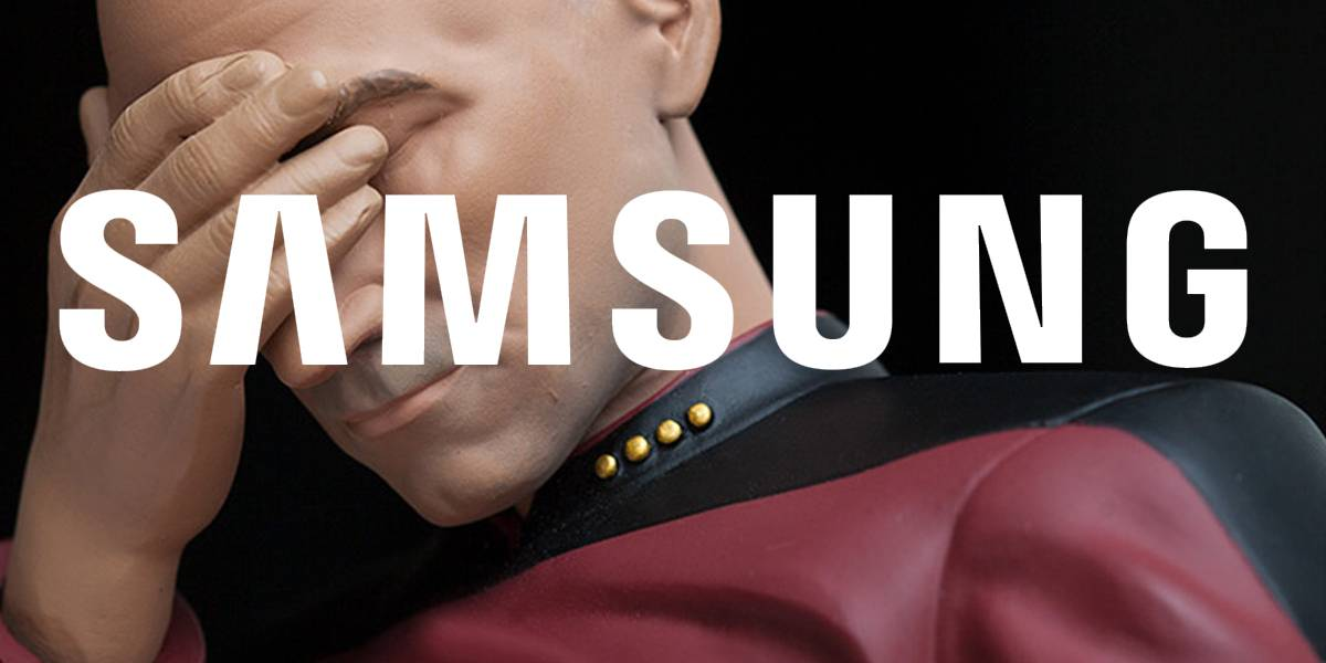 Samsung meme facepalm