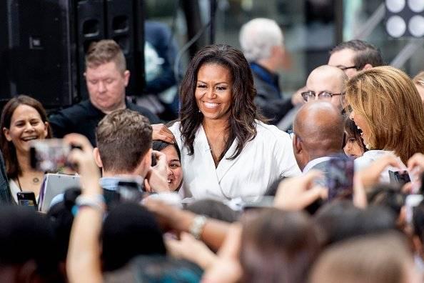 Michelle Obama ublicó su libro llamado