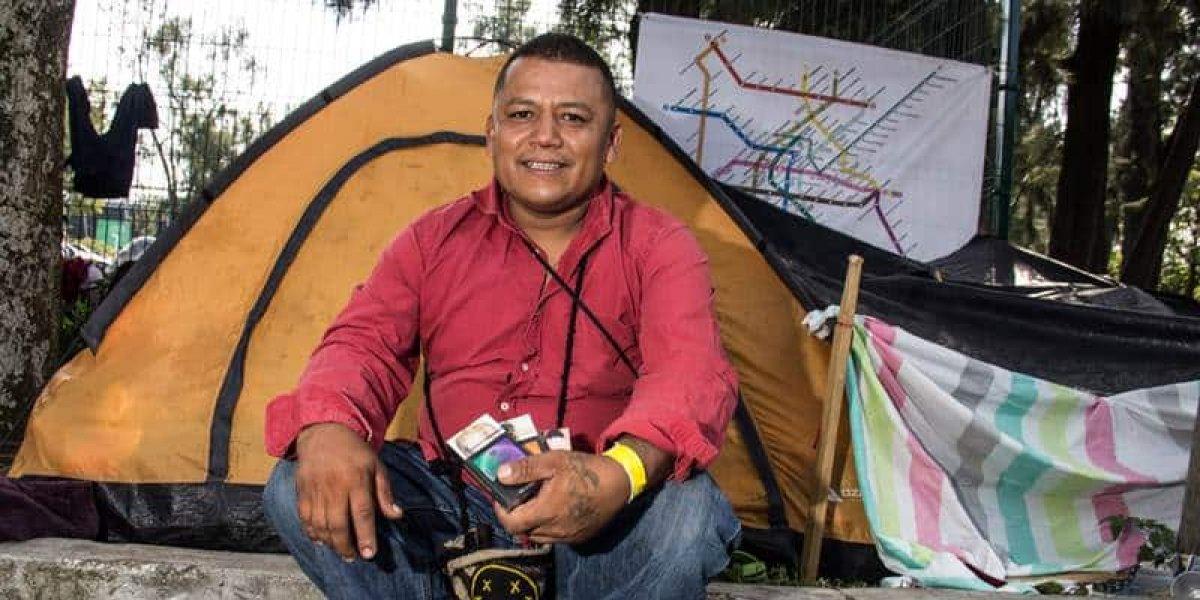 Neptalí y Miriam no quieren ir a EU, sino quedarse en México