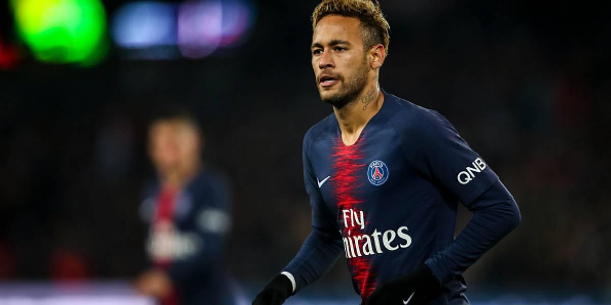 Neymar escoge el nombre 'Santos' para 'La Casa de Papel'