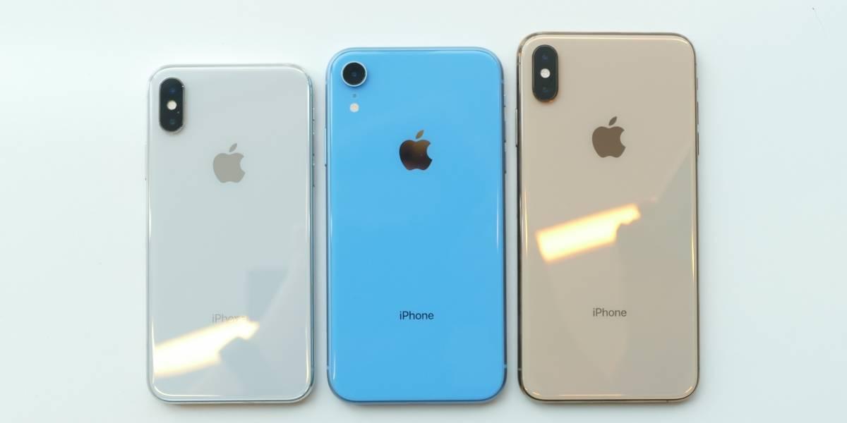 Apple desacelera la producción de sus tres modelos nuevos de iPhone, según informe