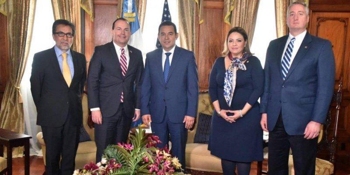 Presidente Morales y senador de EE. UU. dialogan sobre migración y otros temas