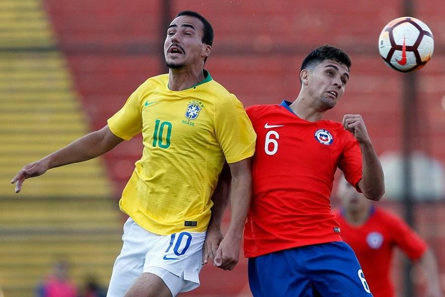 Ignacio Saavedra es uno de los jugadores con más rodaje en Primera División en la Roja Sub 20 / Foto: Photosport
