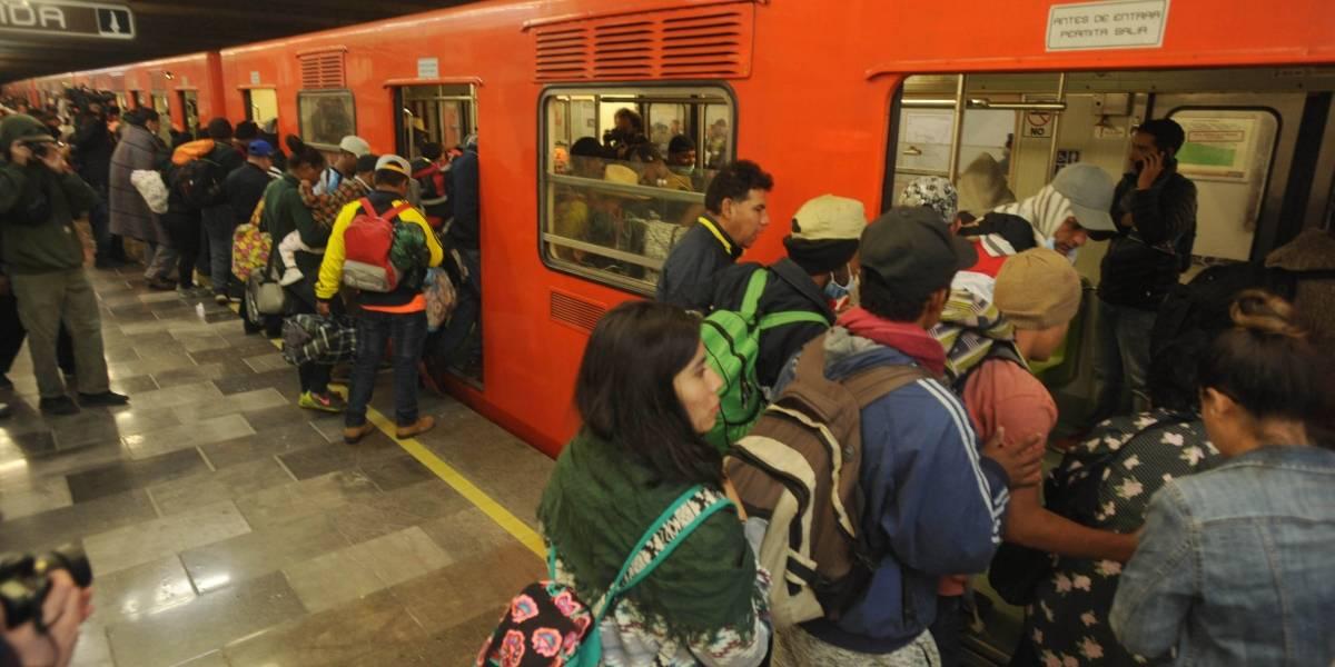 Migrantes abandonarán la CDMX a las 05:00 del sábado
