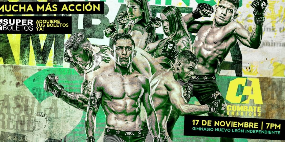 Monster y Publisport te invitan al Combate Américas-Monterrey 2018
