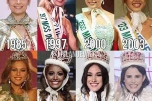 Estas son las ocho corona de Venezuela en Miss Internacional