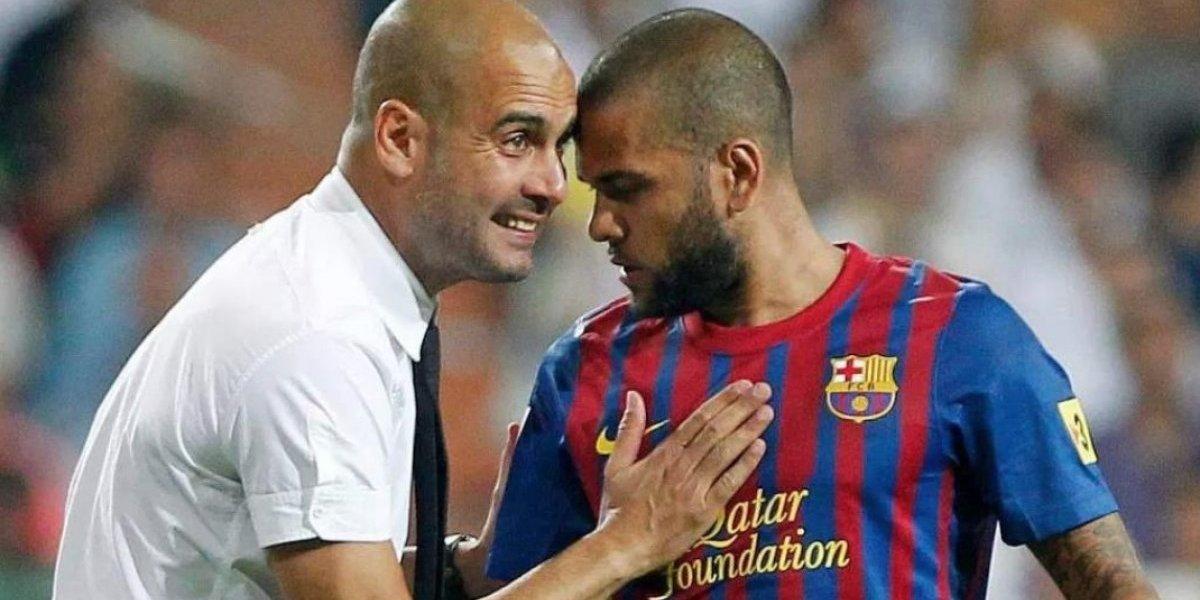 Dani Alves asegura que Guardiola es mejor que el sexo
