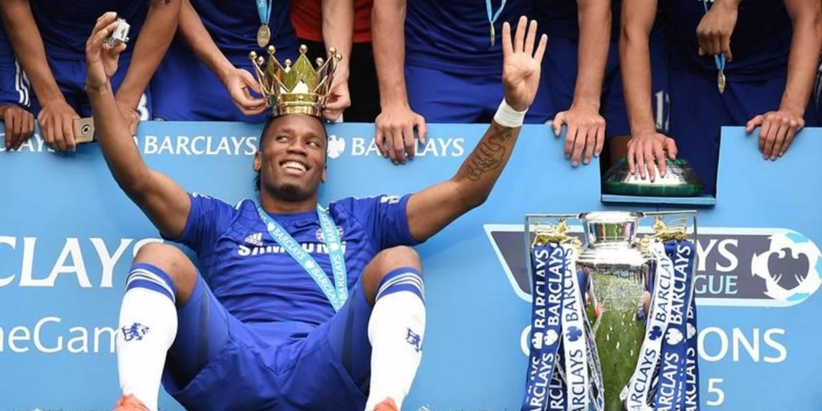 Didier Drogba se despide de las canchas tras perder la final en EU