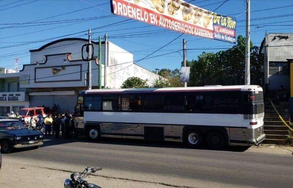 Balacera bus pullman