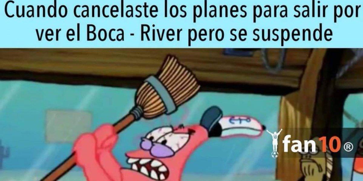 Los memes no perdonaron la suspensión de final de la Copa Libertadores