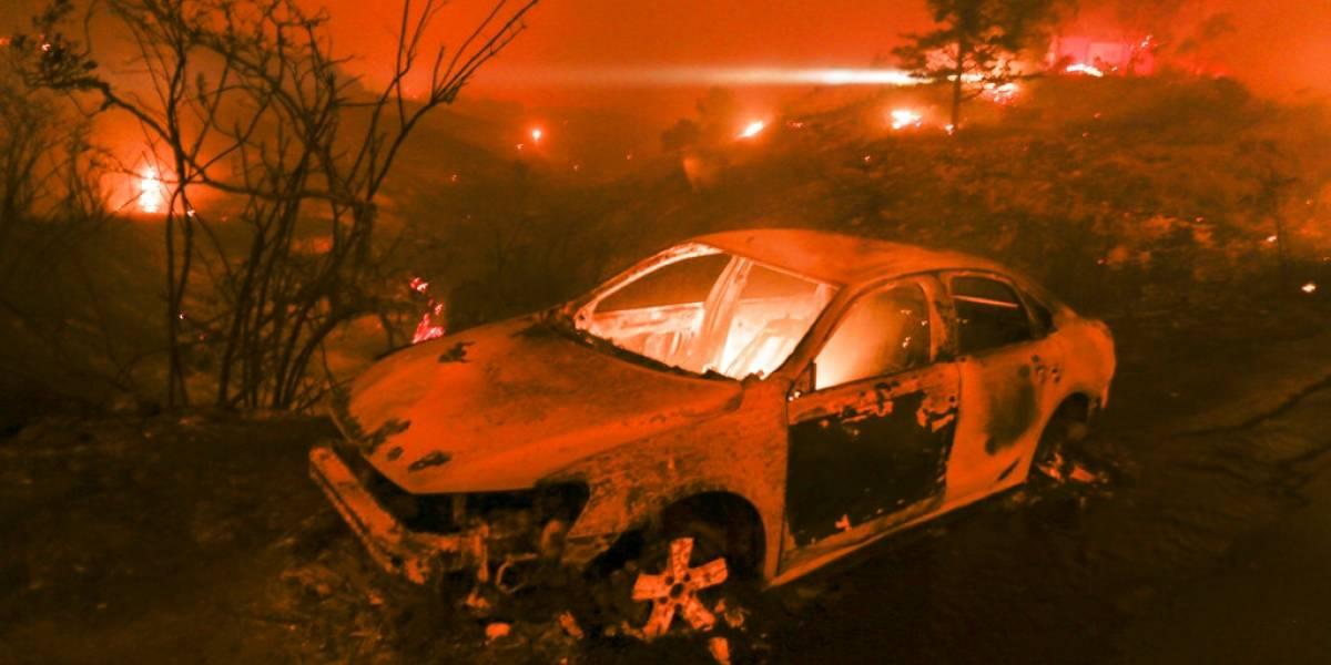9 muertos tras el incendio que borró del mapa a Paradise, California