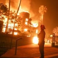 Incendios forestales en California