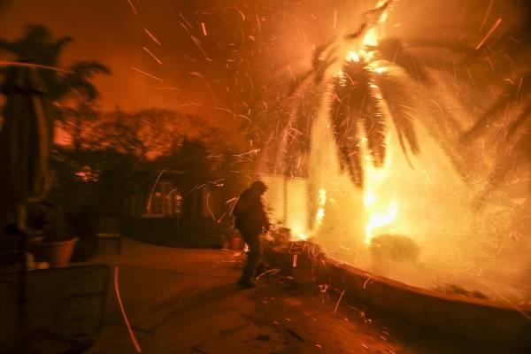 California incendios