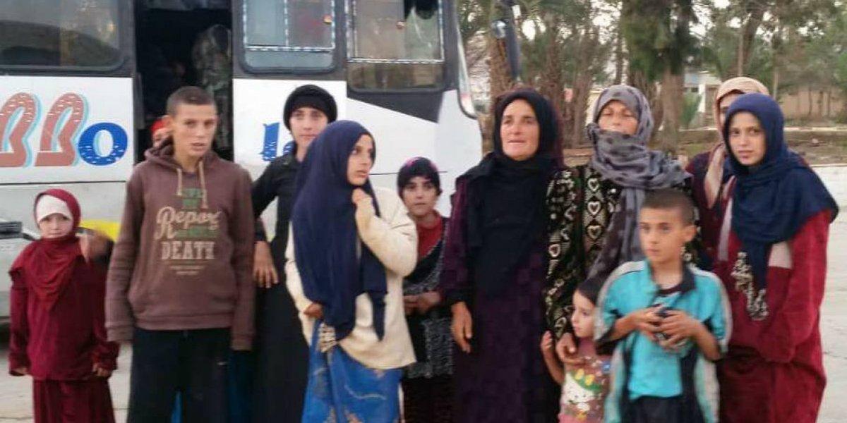 Mujer liberada por Estado Islámico narra cómo vio morir a su hijo