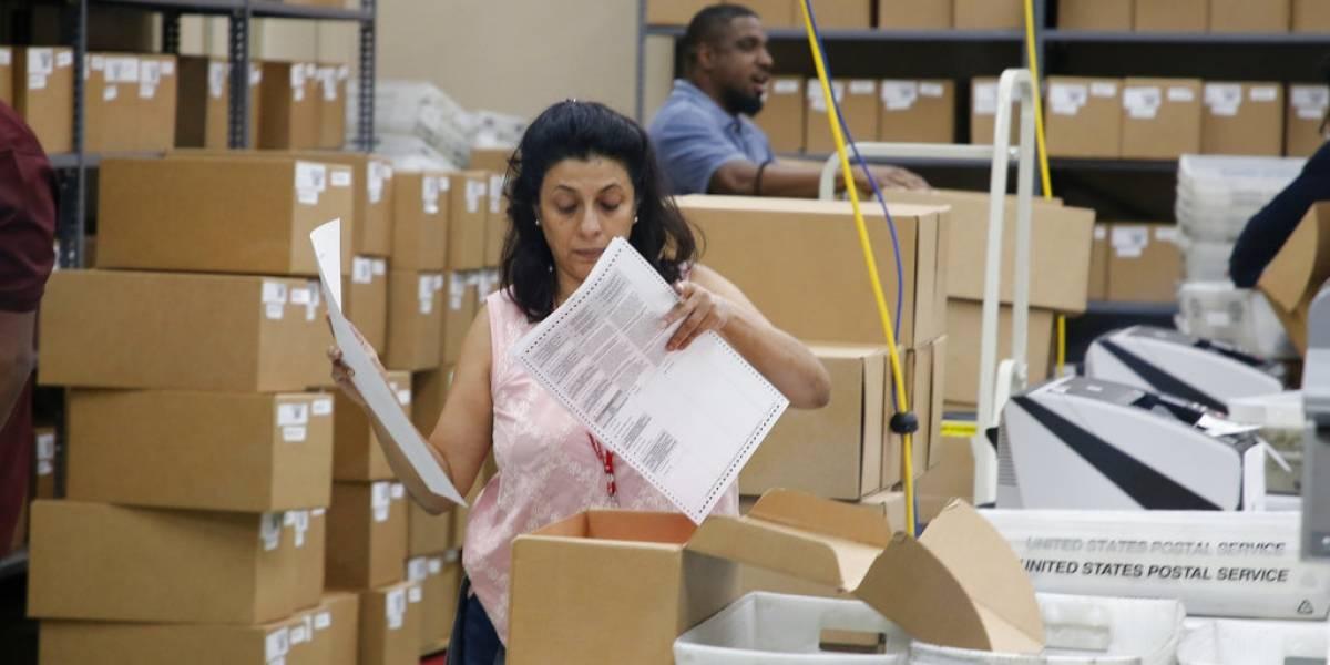 Ordenan recuento de votos en elecciones en Florida