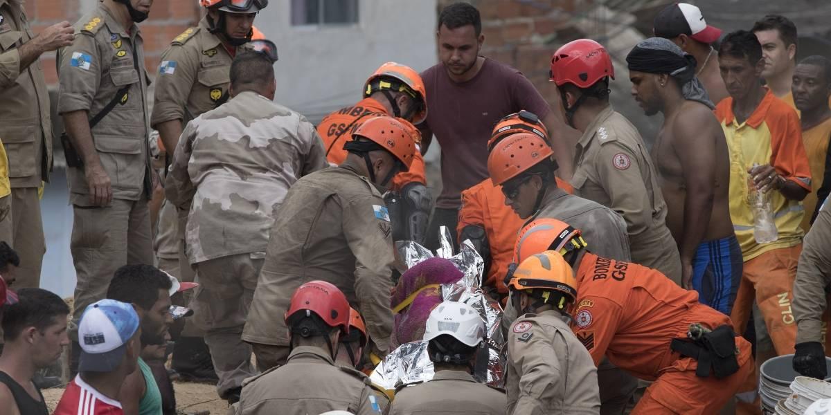 10 muertos y 4 desaparecidos por alud de tierra en Brasil