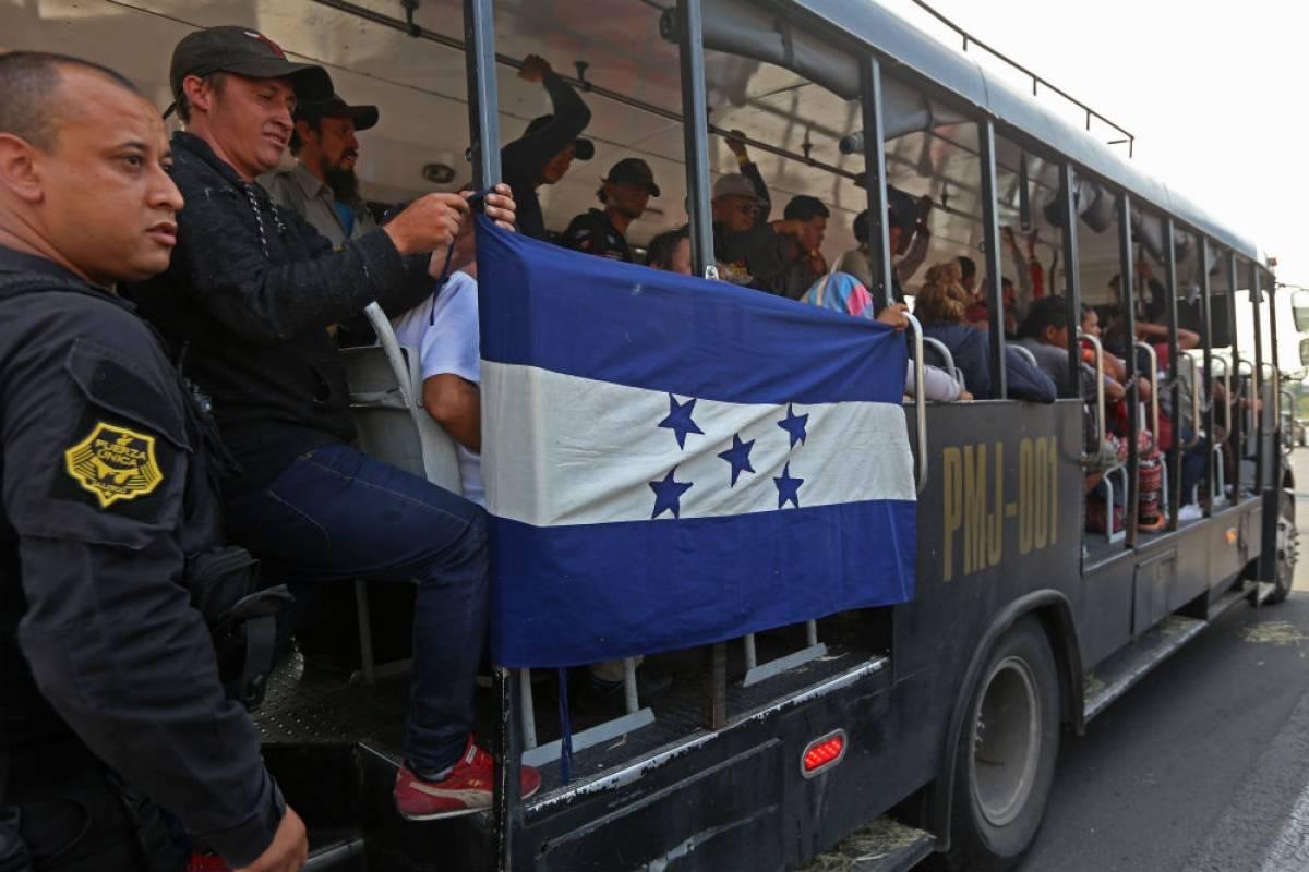 Caravana Migrante pasa por Jalisco Foto: Cuartoscuro