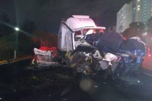 Accidente en la México-Toluca