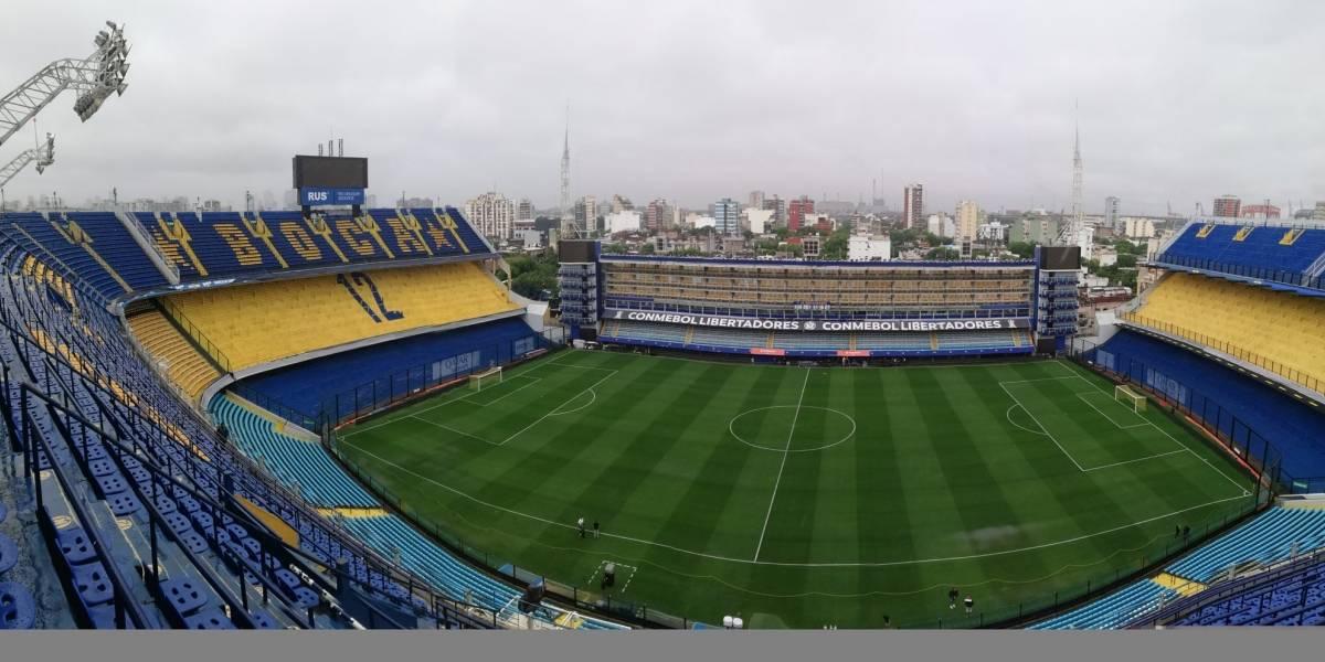 Conmebol confirmó la suspensión por lluvia de la primera final de la Copa Libertadores entre River Plate y Boca Juniors