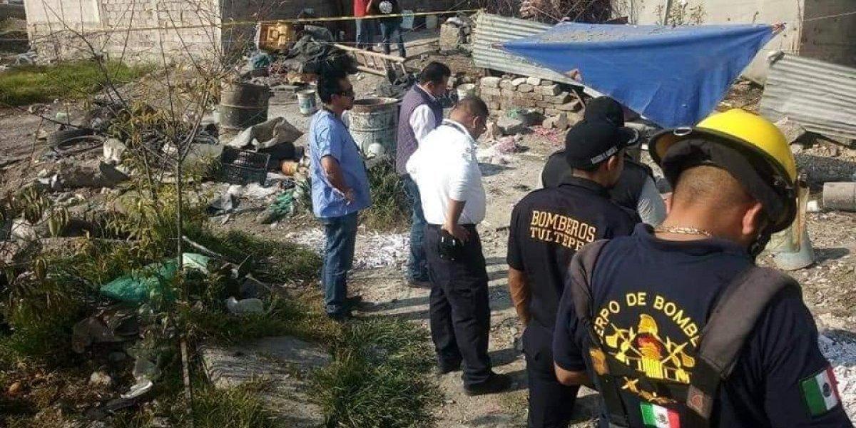 Explosión de polvorín en Tultepec deja dos personas muertas