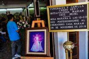 Funeral Valeria Cruz Medel
