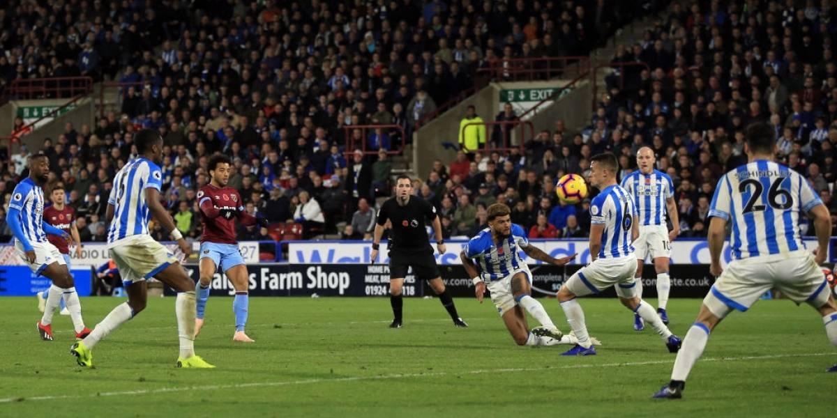 West Ham de Pellegrini se enredó ante Huddersfield y apenas rescató un empate