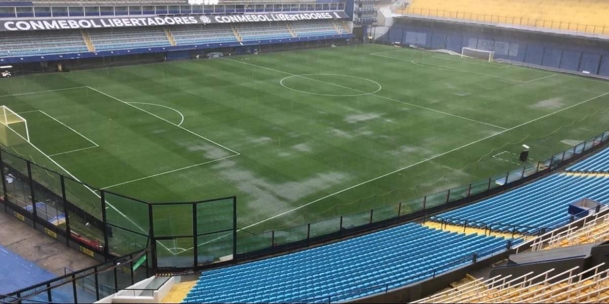 Un diluvio en Buenos Aires pone en suspenso la final Boca-River: Conmebol estudia postergarla
